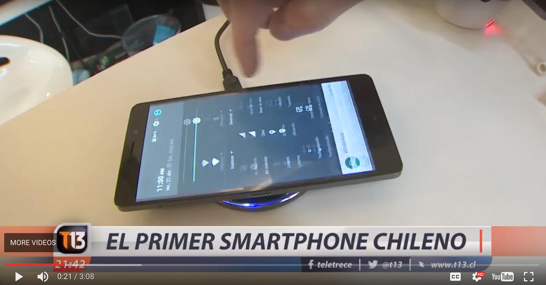 [VIDEO] Keiphone: el primer smartphone chileno