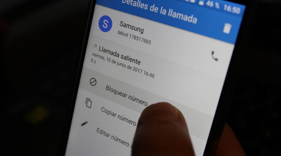 ¿Cómo bloquear un contacto en Android?